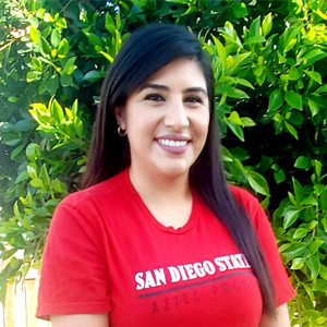 Jessica Moreno is a senior at SDSU's Fowler College of Business