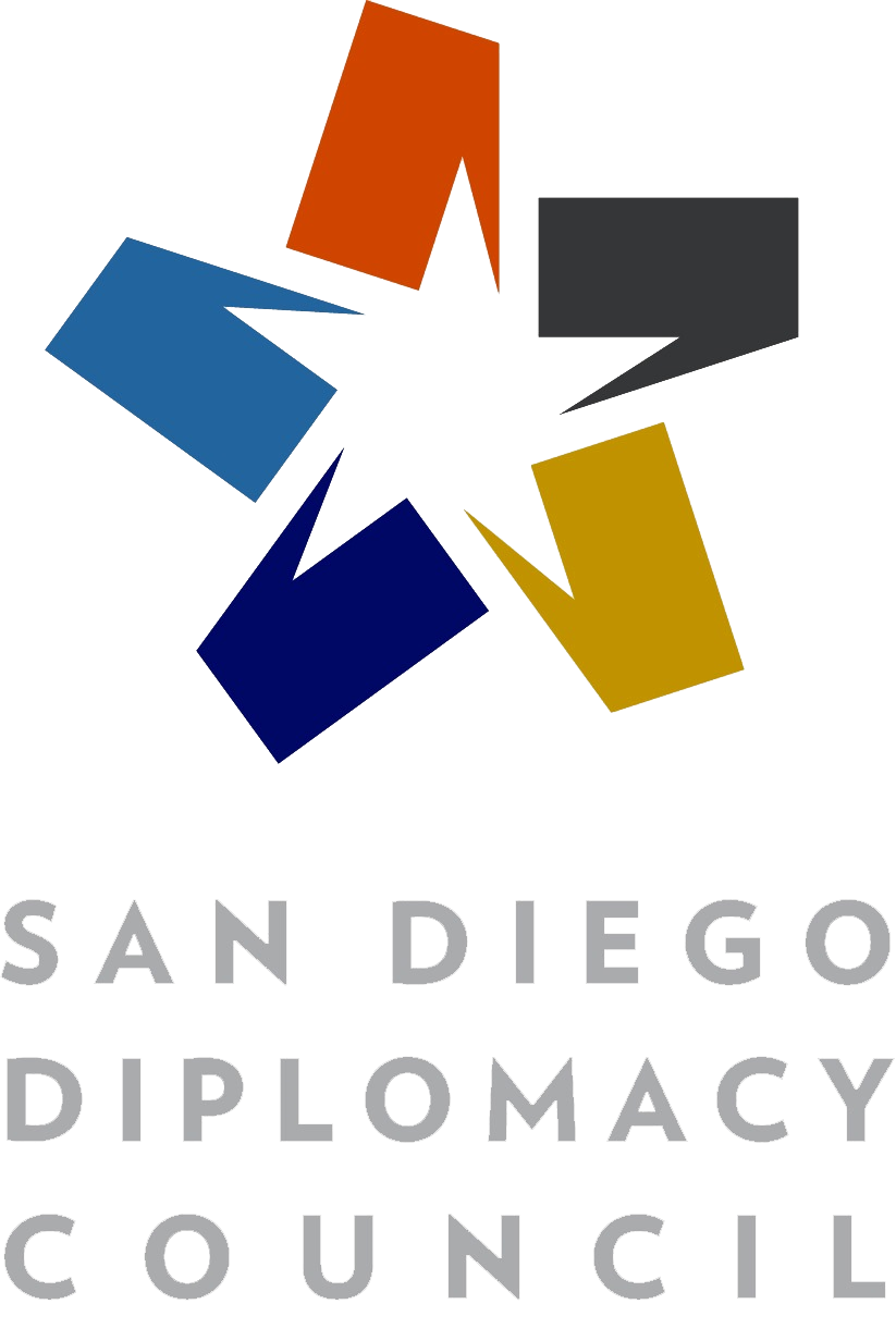 Logo of the San Diego Diplomacy Council