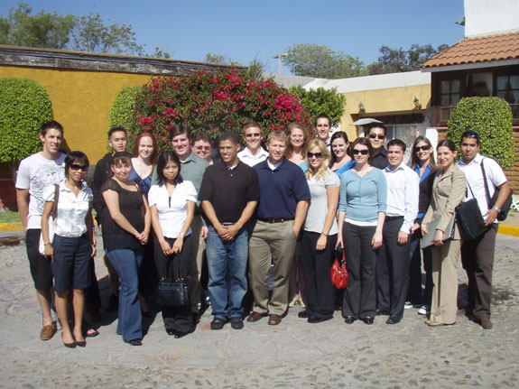 2008, Honors Trip to Tijuana