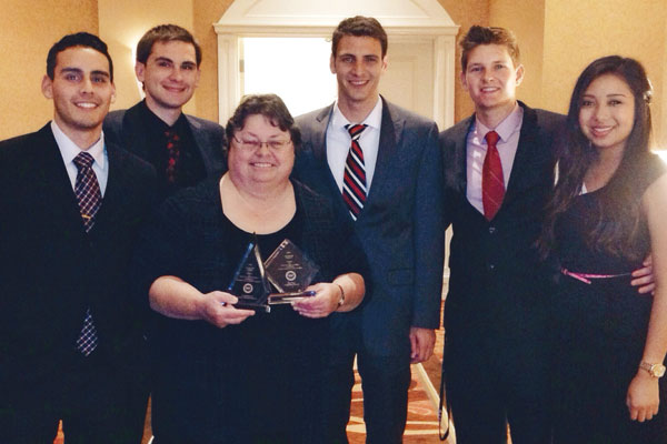 International Collegiate Business Strategy Team Brings Home Trophies