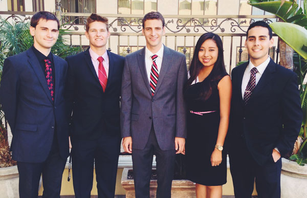 International Collegiate Business Strategy Team Brings Home Trophies #2